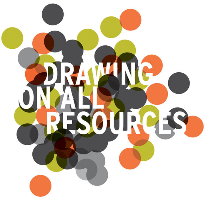 Drawing On All Resources logo