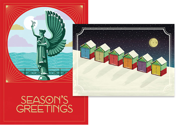 Peter Kyle Christmas cards