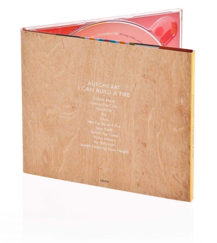CD packaging reverse side